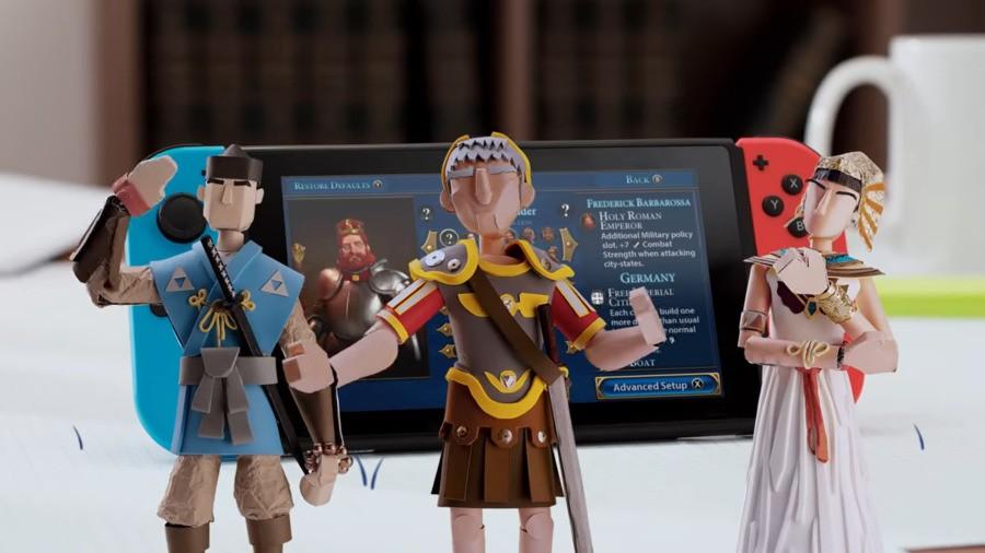 Sid Meier's Civilization VI Episode 1 Starting A Game Nintendo Switch 0 21 Screenshot