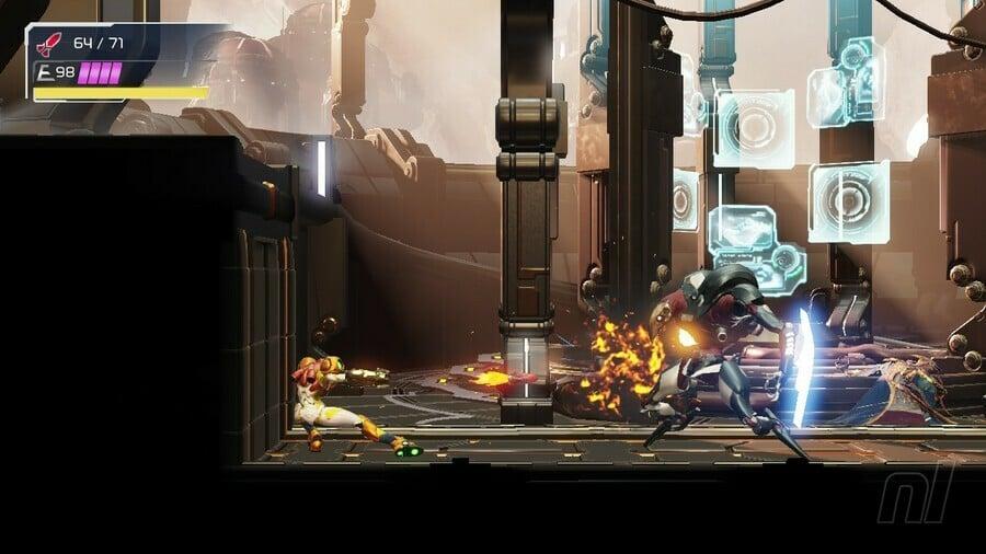 Metroid Dread Robot Chozo Soldier Boss Battle
