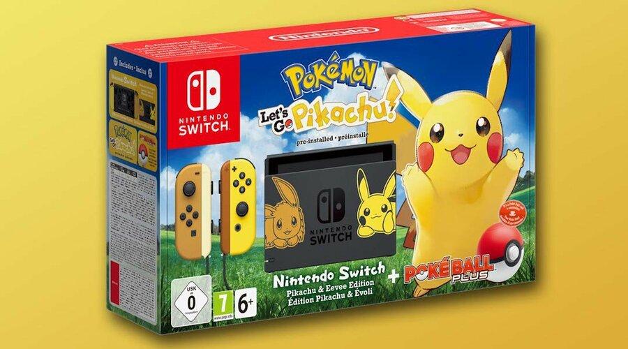 Nintendo Switch Pokemon Let's Go Bundle