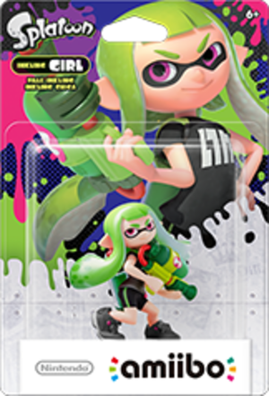 Inkling Girl amiibo Pack