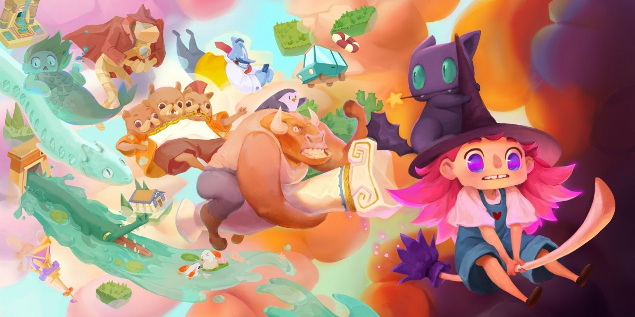 Untangle A Puzzling World When Harmony's Odyssey Lands On Switch Later This Year