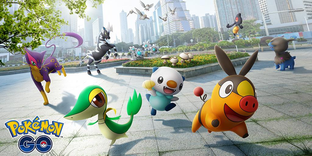 Unova Pokémon تصل إلى Pokémon GO اليوم ، كشفت التفاصيل الأولى والحصص الإقليمية 1