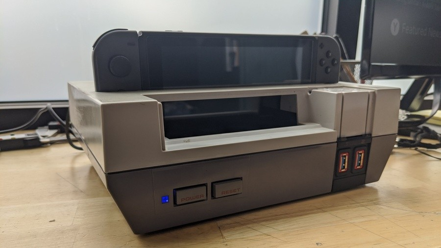 Switch Dock NES