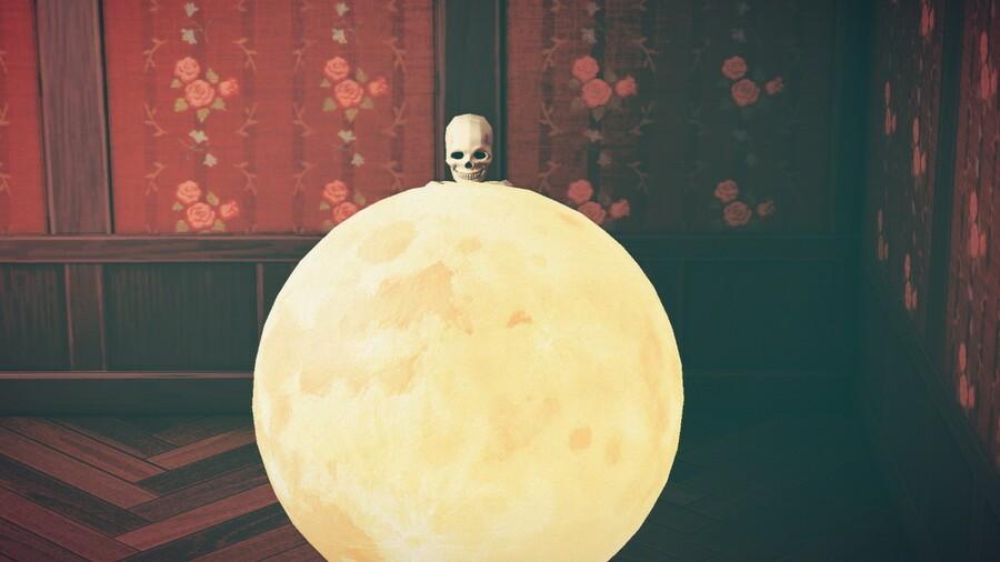 Skull moon! Everyone wants a skull moon