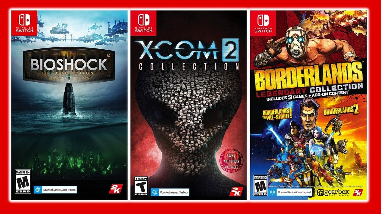 Buying BioShock, Borderlands Or XCOM Physically? Expect Huge Download Requirements - Nintendo Life