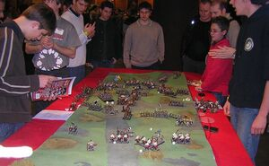 A fun game of Warhammer