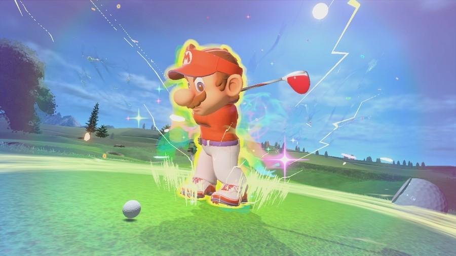 Mario Golf Screen