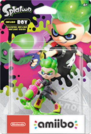 Inkling Boy amiibo Pack