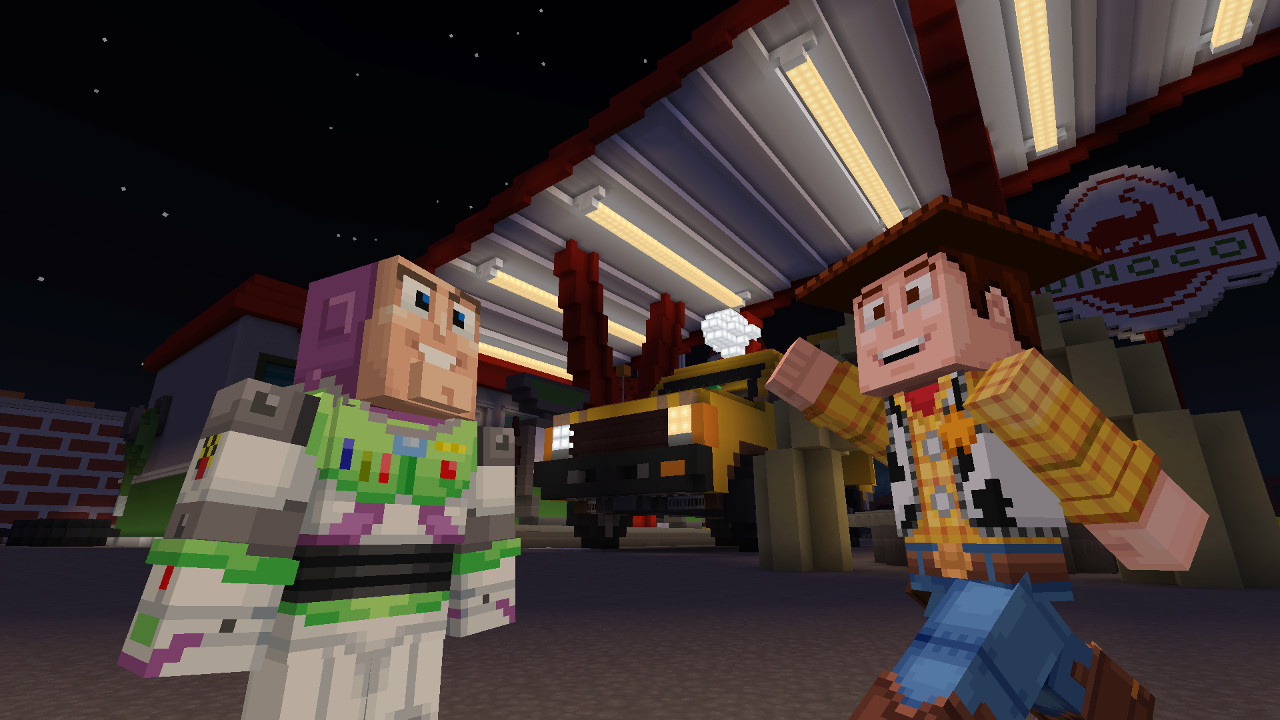 Toy Story Mash-Up Pack Now Available In Minecraft