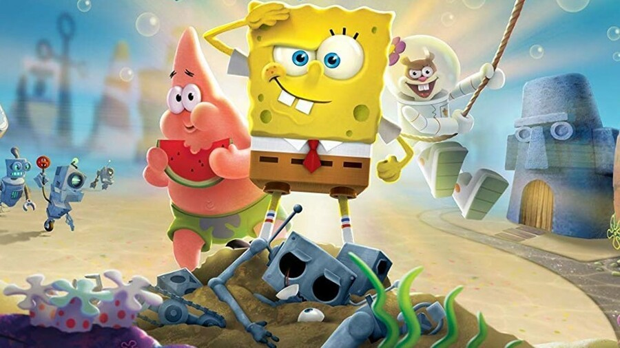 Spongebob squarepants 900x SpongeBob SquarePants Battle for Bikini Bottom 8211 Rehydrated Has Been Patched On Switch 8211 Nintendo Life