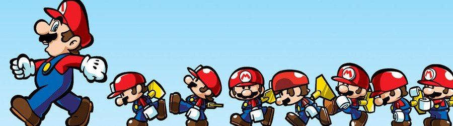 Mario and Donkey Kong: Minis on the Move (3DS eShop)