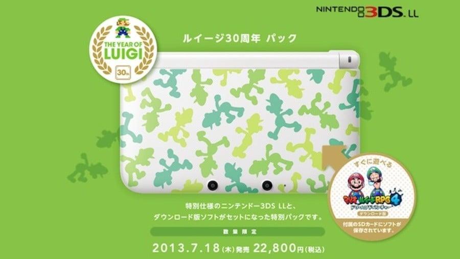 Luigi 3 DS XL
