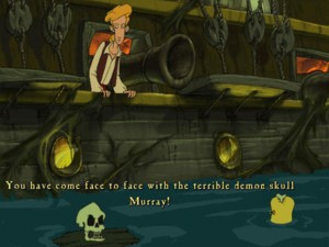 Murray from The Curse of Monkey Island will be returning later in the series!