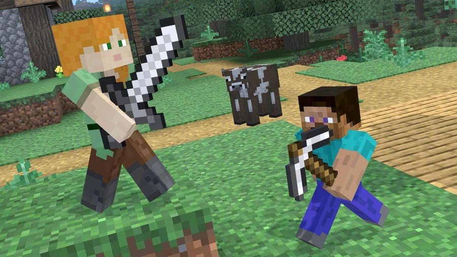 Super Smash Bros. Ultimate - Minecraft Steve