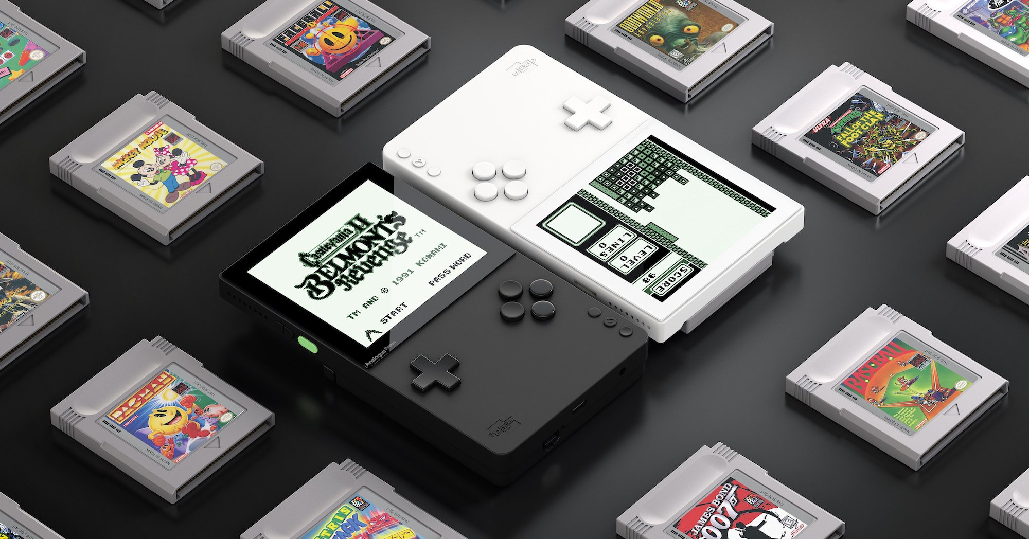 The Analogue Pocket Will Play Every Game Boy Game Ever and More