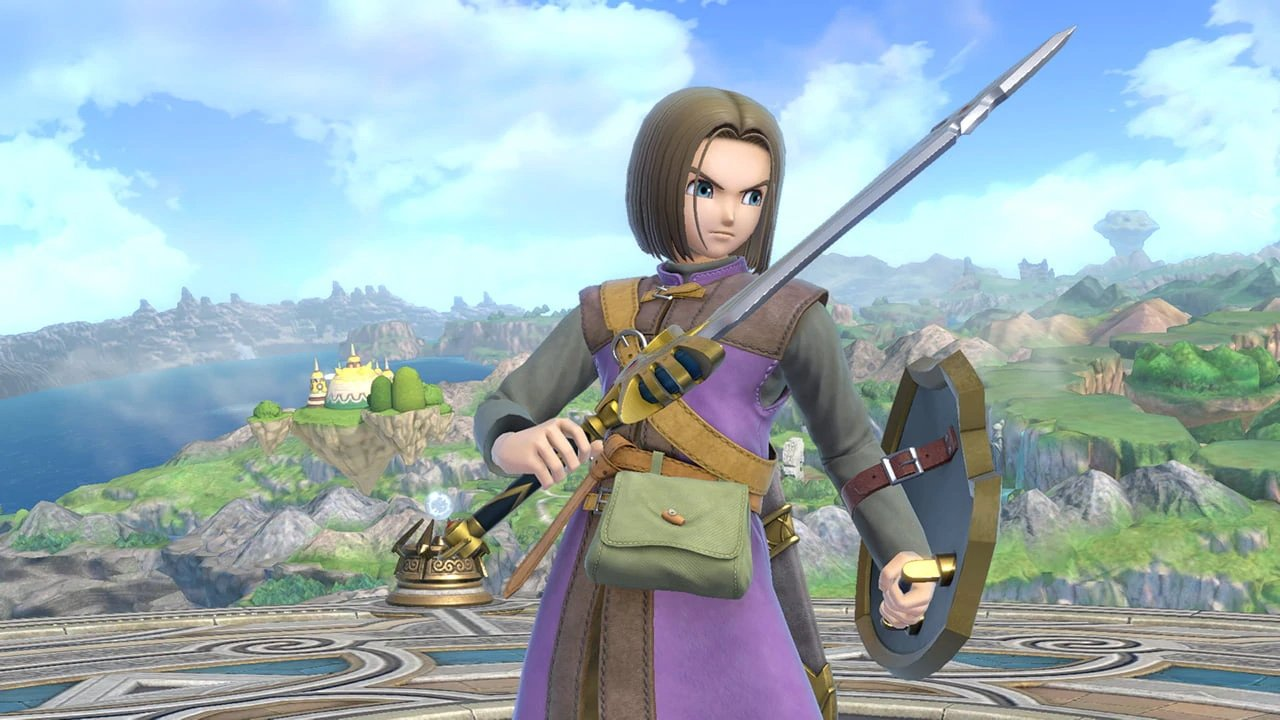Dragon Quest's Hero DLC announcement coming tomorrow but may release July 31st