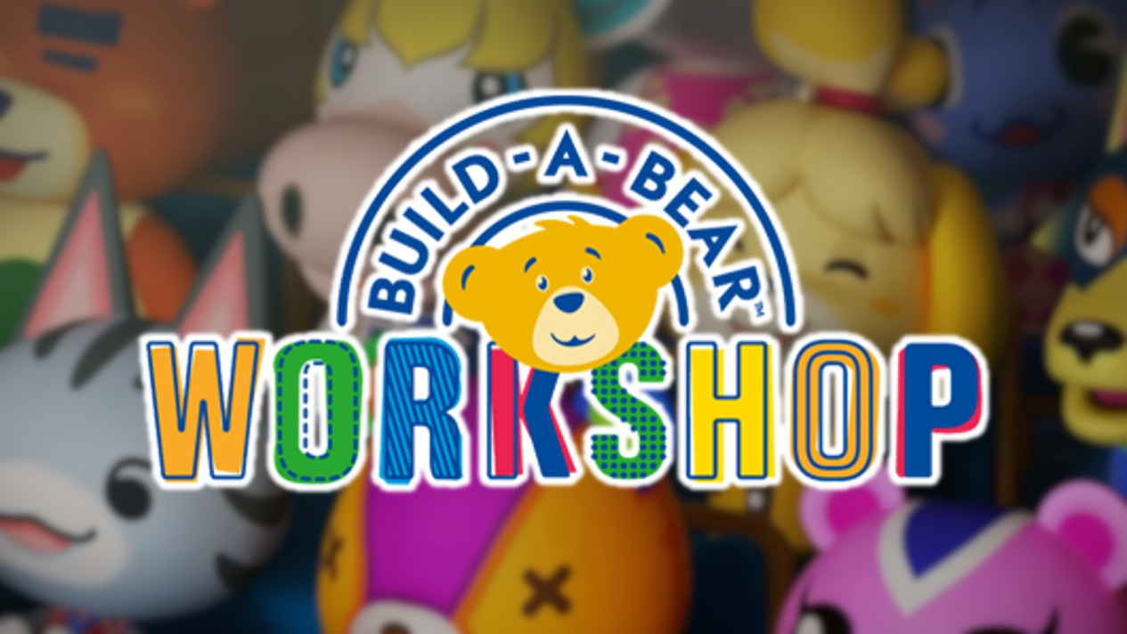 Build-A-Bear Is Launching An Animal Crossing: New Horizons Collection