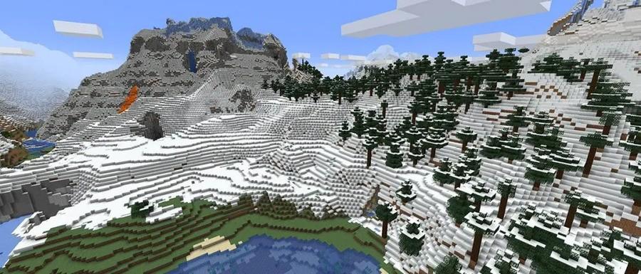 Mojang's Mountains