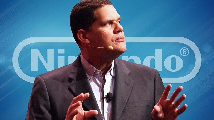 Nintendo of America president, Reggie Fils-Aimé
