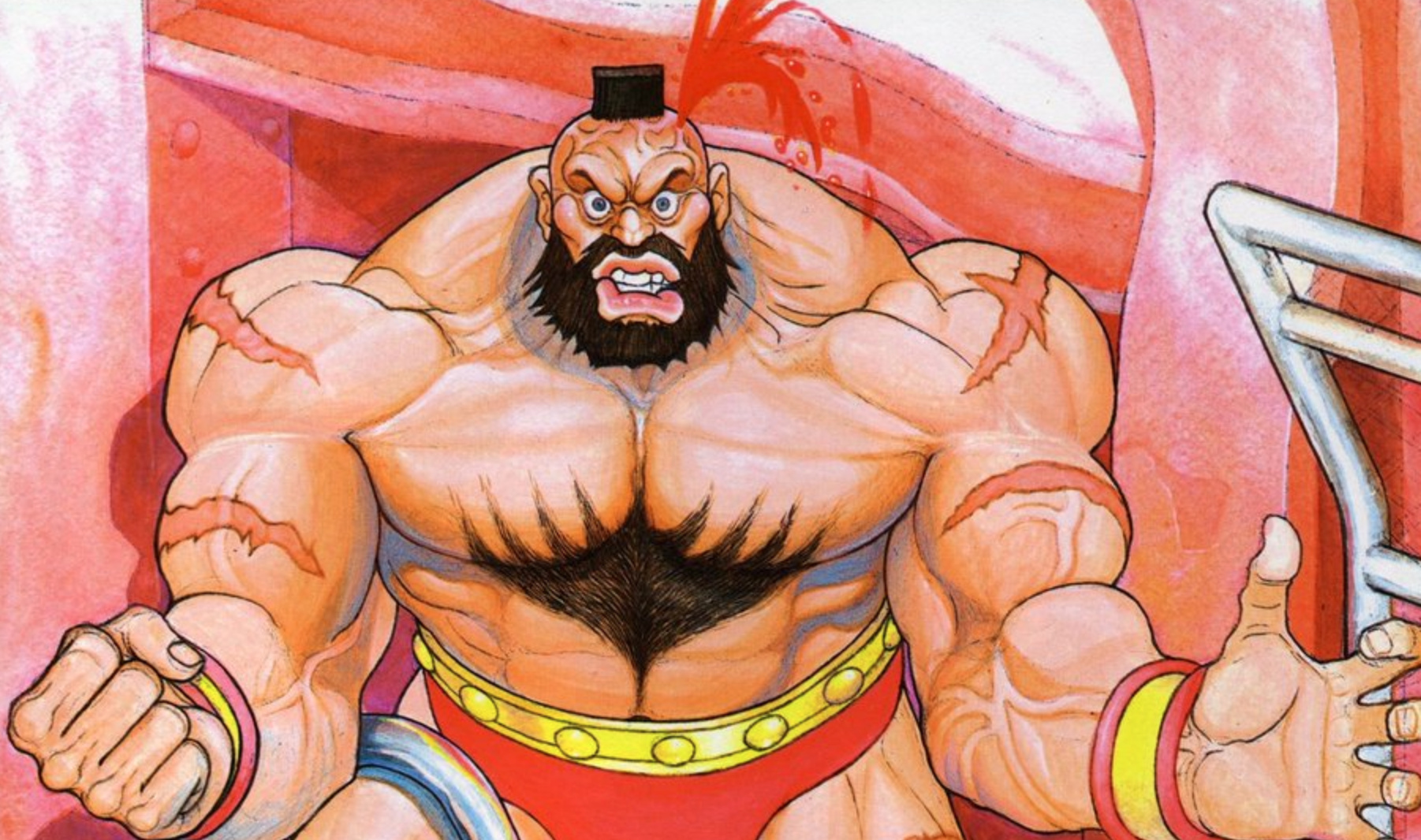 Street Fighter Ii S Zangief Was Nerfed Because One Player Was Too
