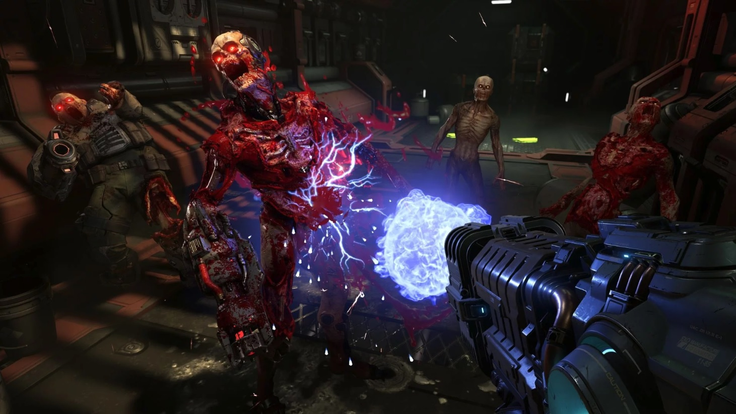Panic Button Is Developing DOOM Eternal for Nintendo Switch, Targeting 30 FPS