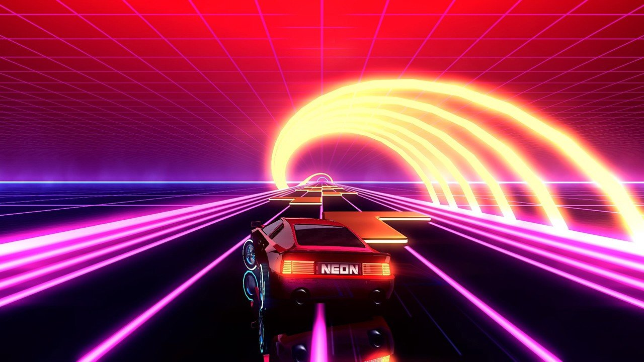 Neon Drive Brings Retro-Futuristic Arcade Action To Switch This Week