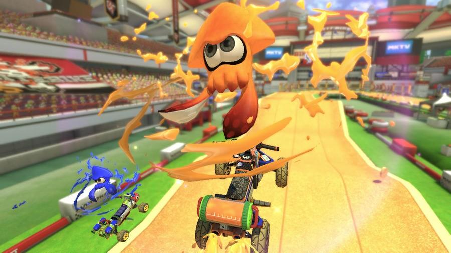 Mario Kart 8 Splatoon