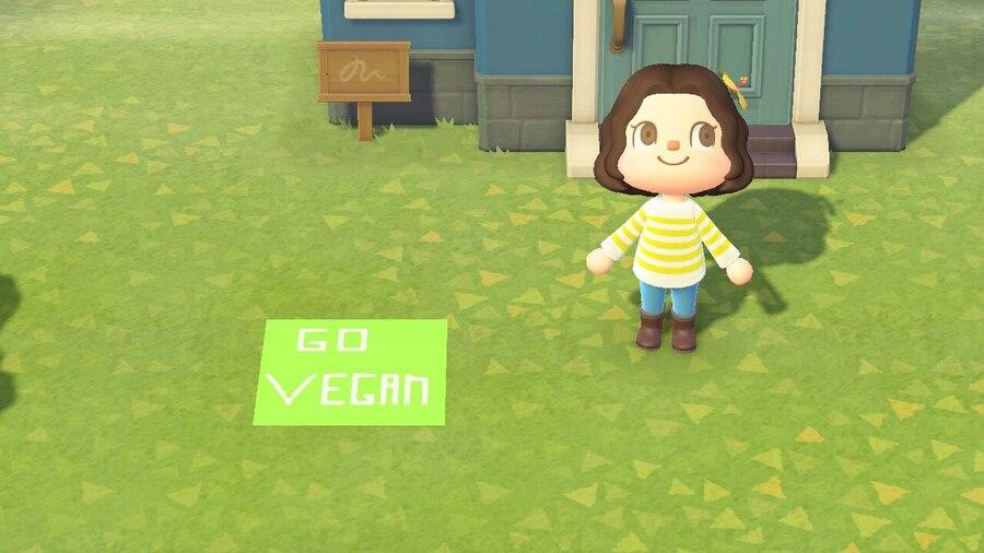Animal Crossing New Horizons vegan