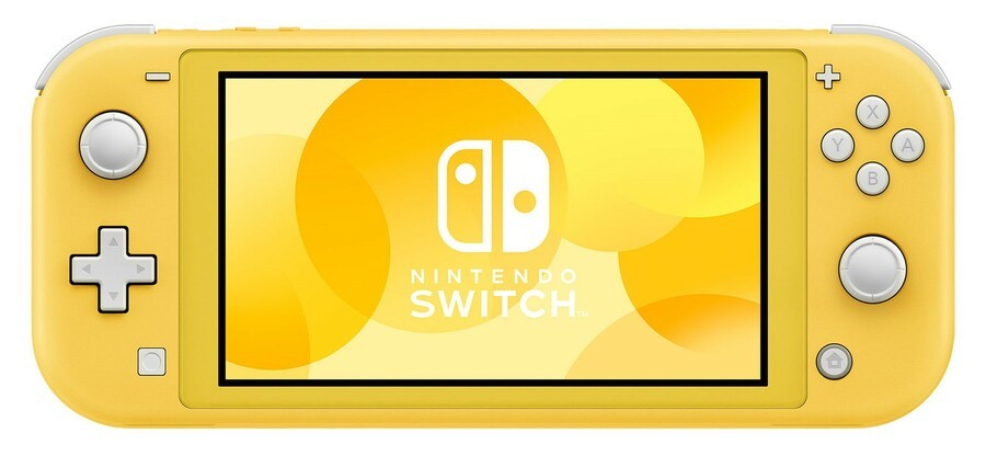 ... and finally, Nintendo Switch Lite