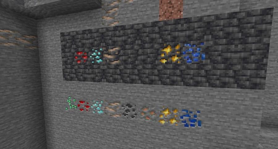 Minecraft Ore texture upgrade