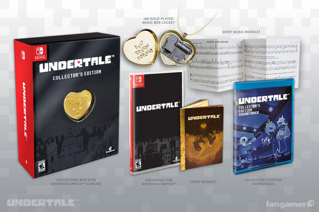 undertale collector s edition secures western september release on