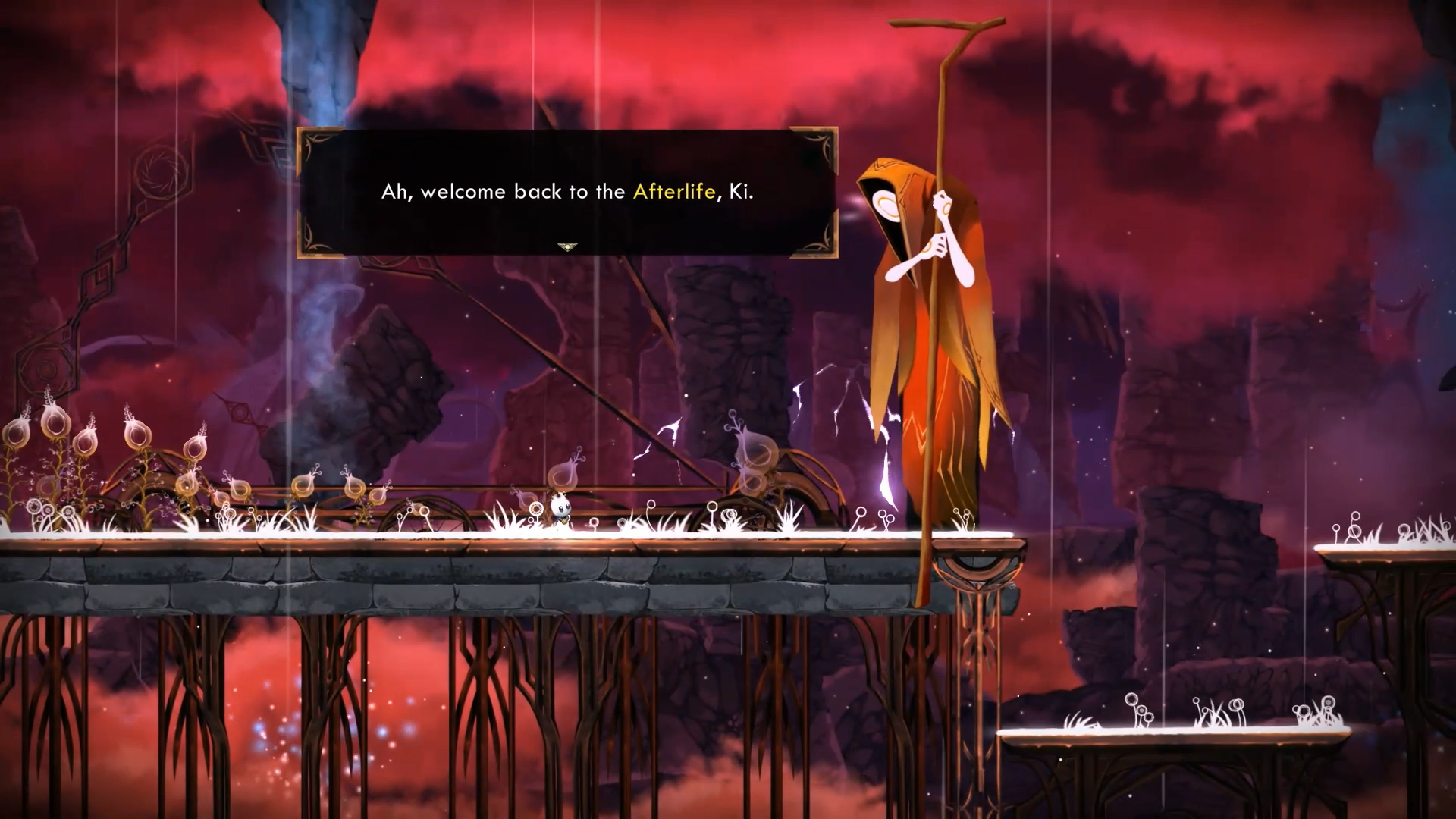 Check out the trailer at the bottom of the page to see the Soulflame mechanic in action.