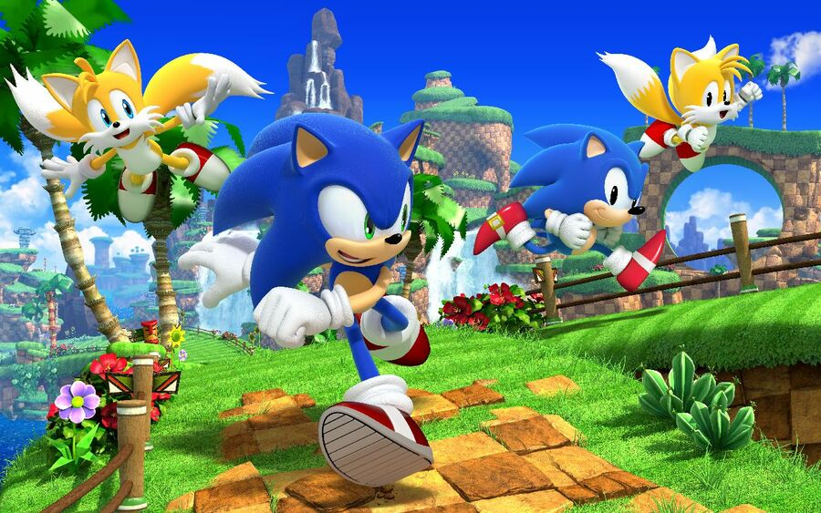 Sonic Generations was released for the 20th Anniversary
