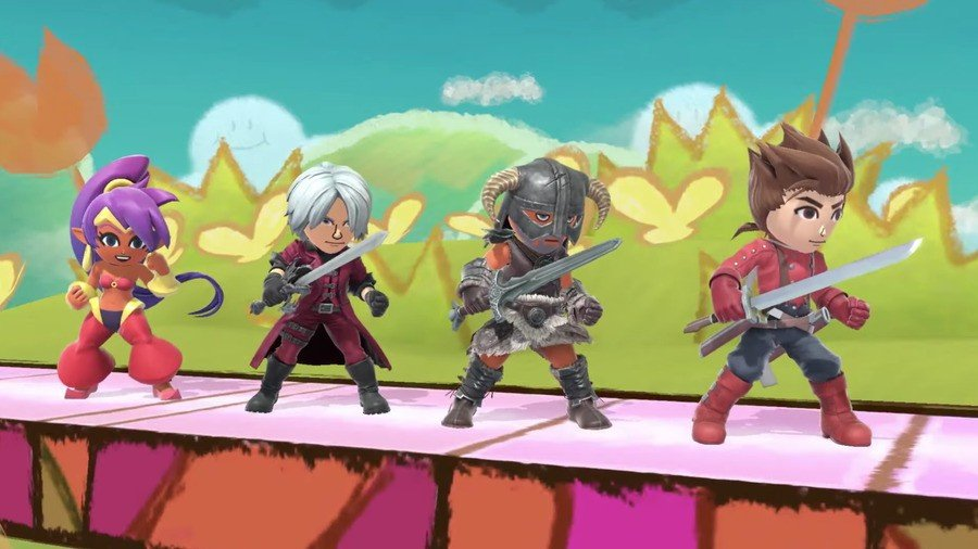 Smash Mii Fighters