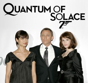 Bond is back in Quantum of Solace