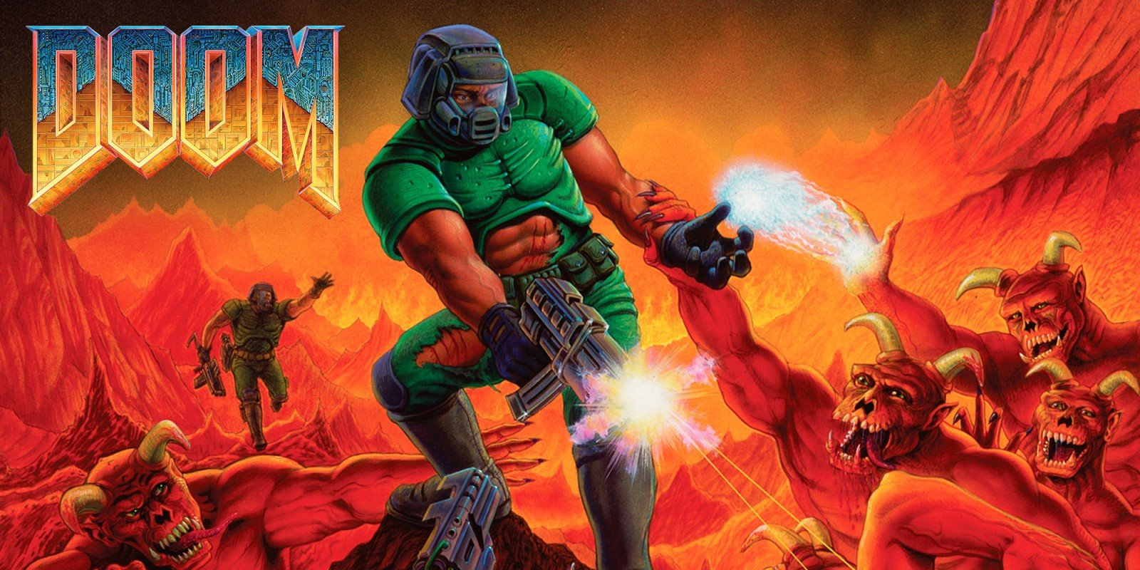 DOOM, DOOM II, and DOOM 3 Re-Release Trailer PEGI