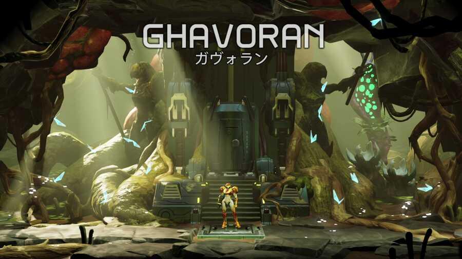Metroid Dread-Gaboran