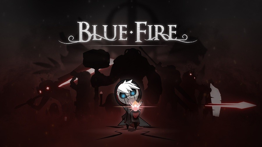 Blue Fire Horizontal Header Image