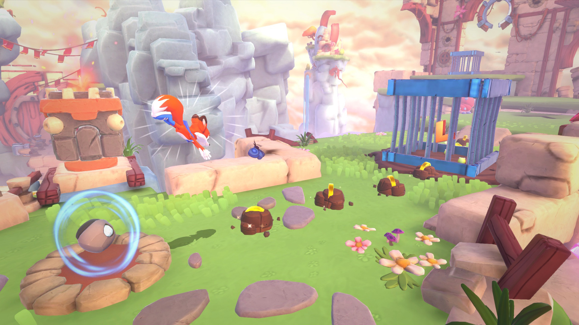Super Lucky's Tale coming to Switch in November