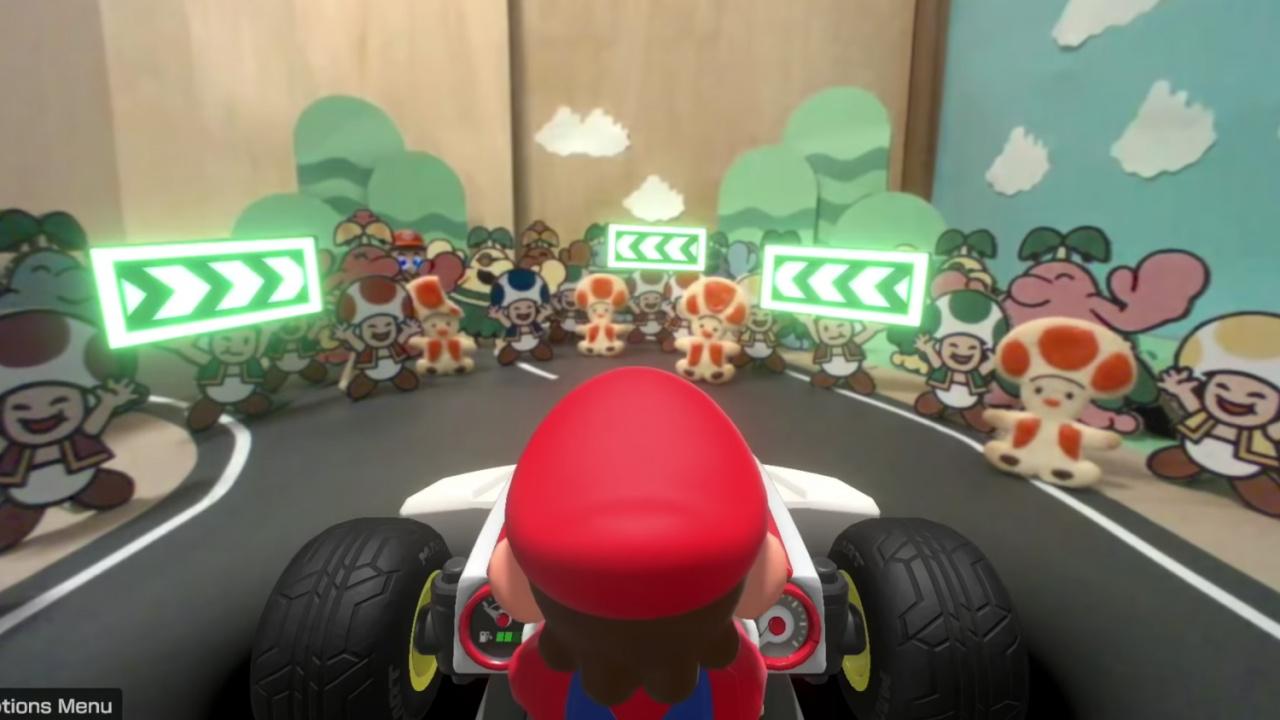 Random: Super-Clever AR Hacks Make Mario Kart Live: Home Circuit Really Shine