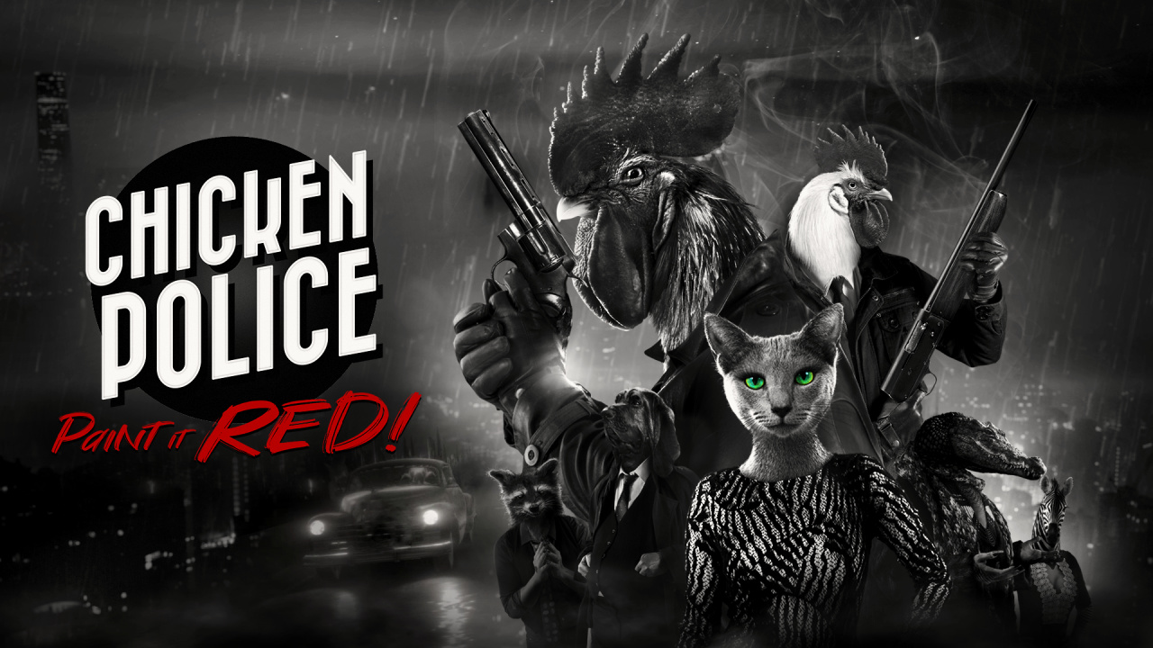 Chicken Police Is A Real Thing, And It's Bringing Buddy-Cop Noir Adventure To Switch