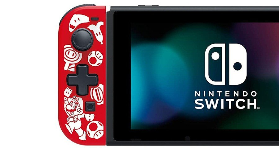 Super Mario Hori Controller
