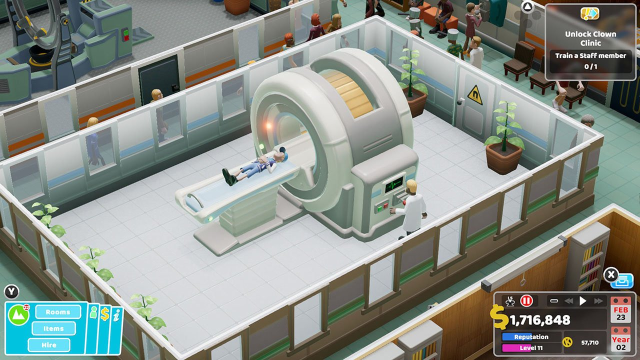 Two Point Hospital coming to consoles this year