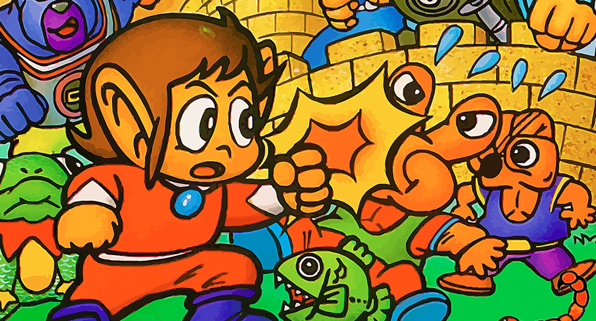 Alex Kidd In Miracle World Is Your Next Sega Ages Classic