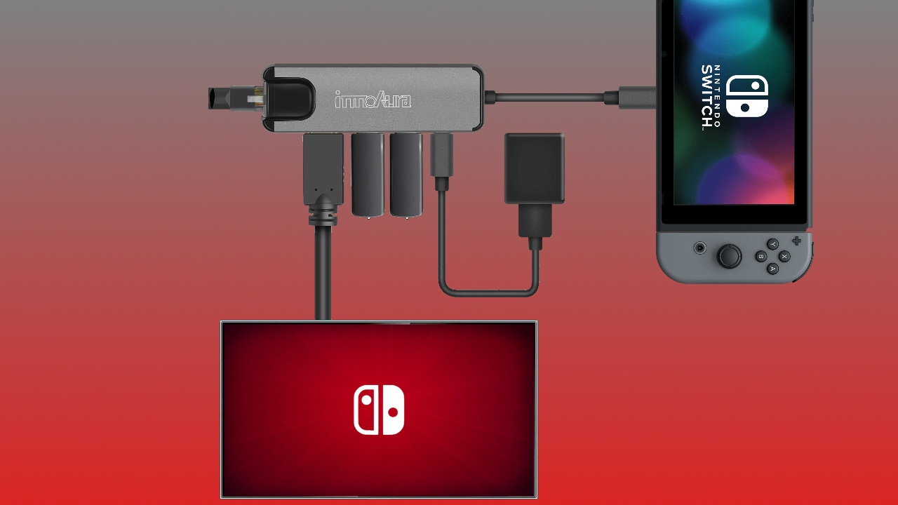 This Switch Dongle Can Replace Your Dock And Includes An Ethernet