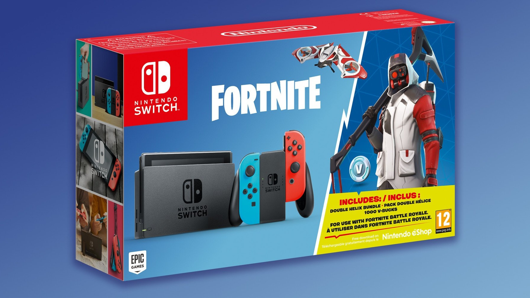 Nintendo Is Releasing A Fortnite Switch Bundle With In Game Currency
