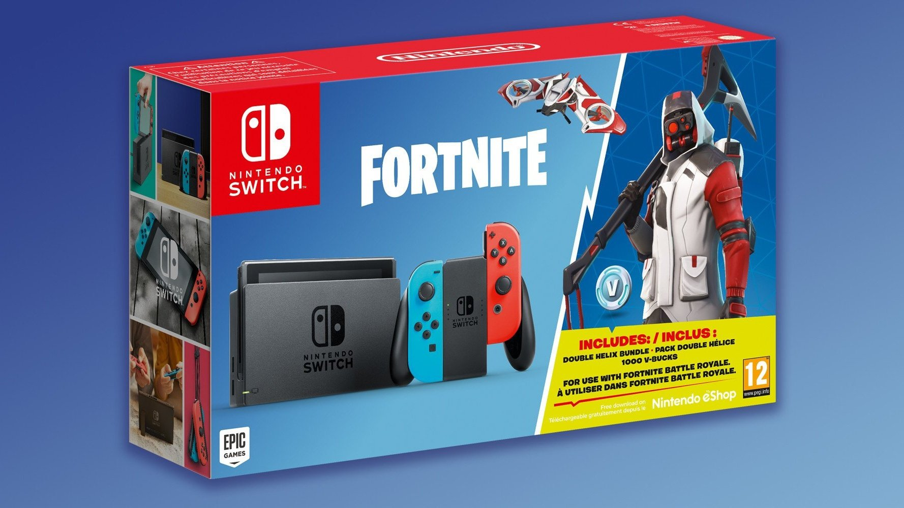 Nintendo Is Releasing A Fortnite Switch Bundle With In Game