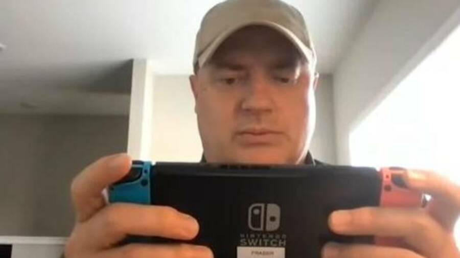 Brendan Fraser playing Switch