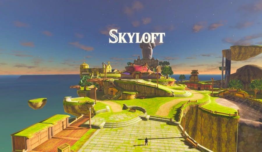 Skyloft in BOTW