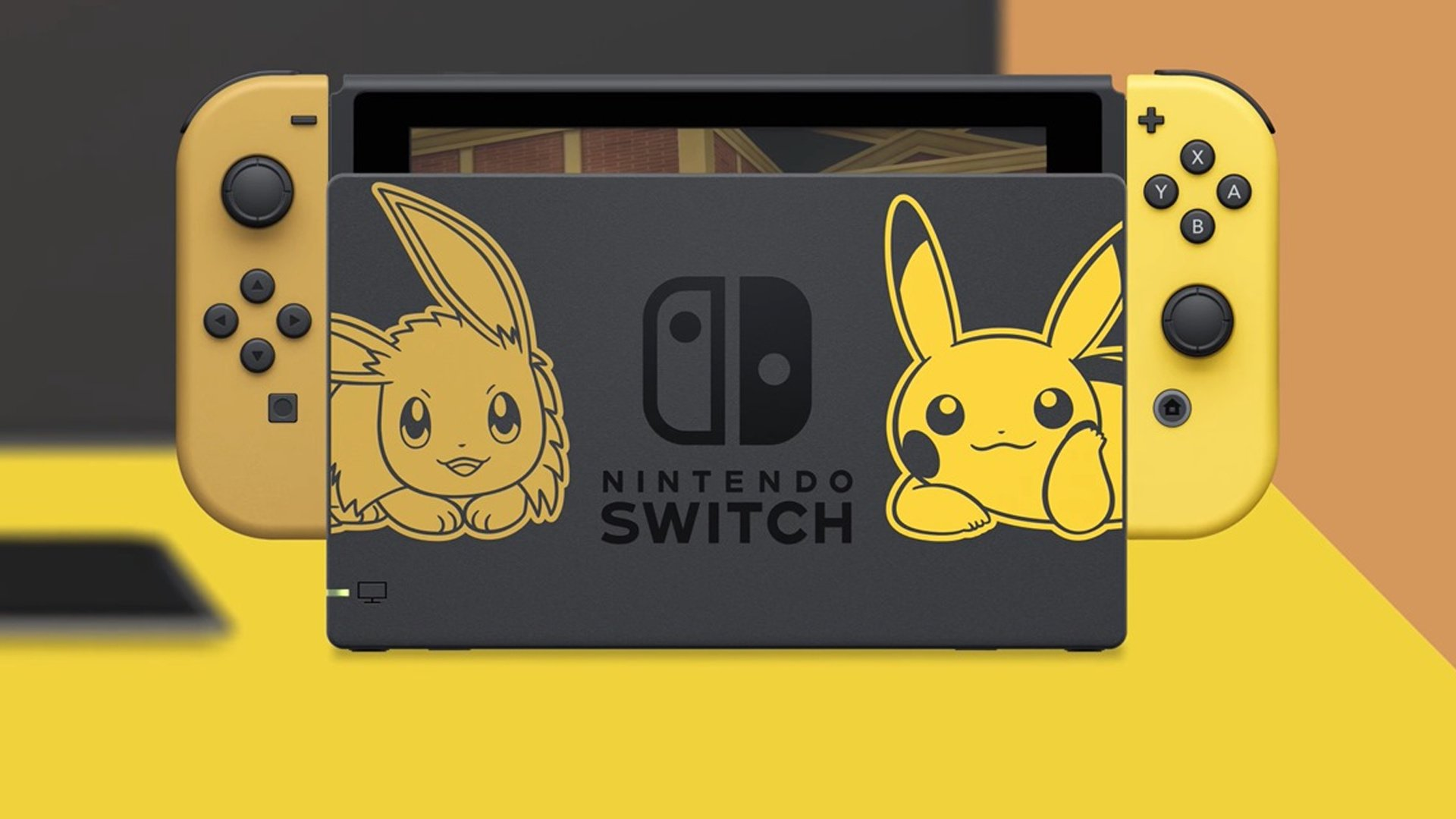 nintendo switch pikachu and eevee edition with pokemon lets go pikachu bundle